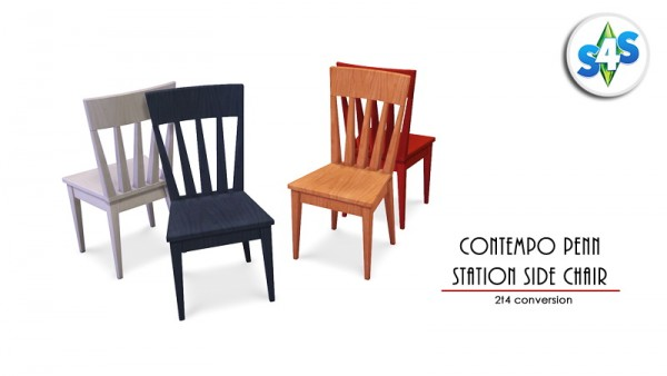Allisas Simming Adventures: Contempo Penn Station Side Chair
