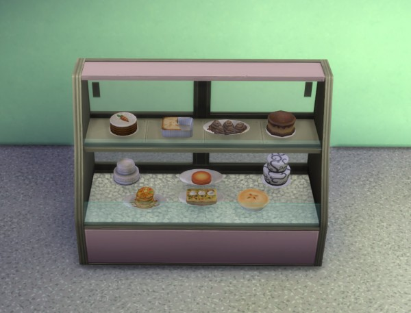 Mod The Sims: Updated Decluttered Food Displays by IgnorantBliss