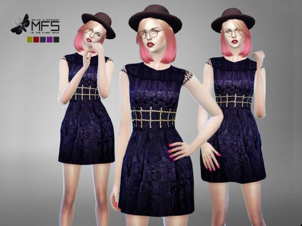 MissFortune Sims: Maxine Dress
