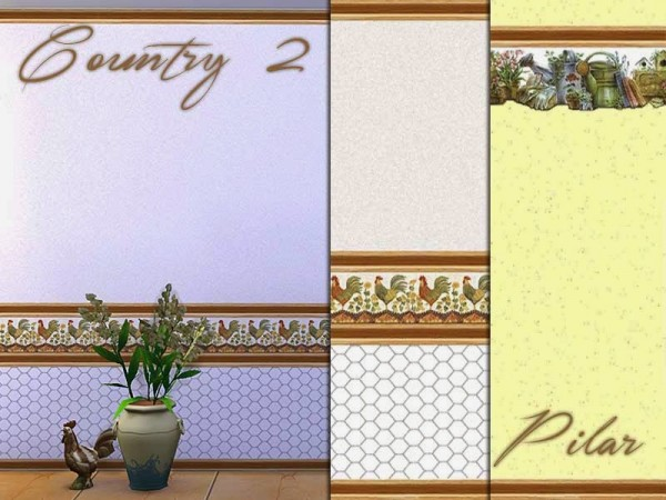 SimControl: Country Wall by Pilar