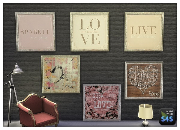 Lintharas Sims 4 Paintings For Your Shop And Home Sims