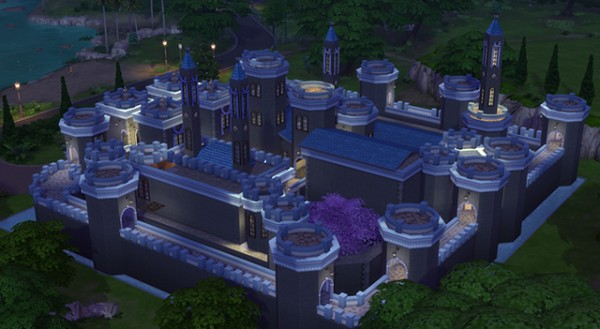 Sims Fans Winterfell Castle Inspired By Game Of Thrones
