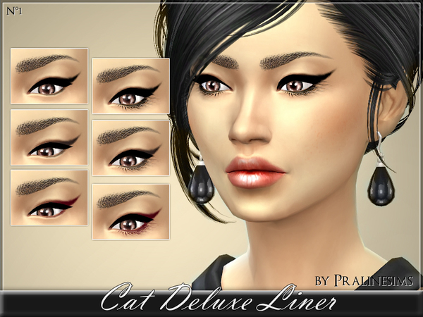 The Sims Resource: Cat Deluxe Liner by Praline Sims
