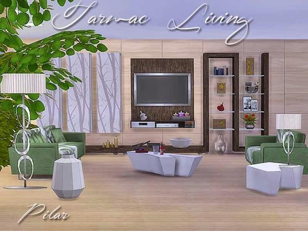 SimControl: Tarmac Living by Pilar