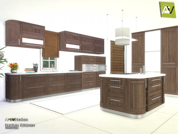The Sims Resource Faktum Kitchen By Artvitalex Sims 4