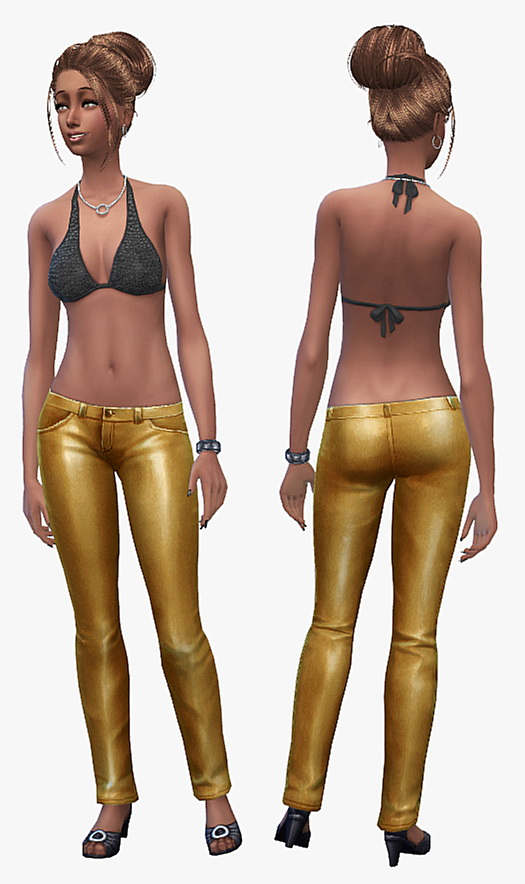 19 Sims 4 Blog Leather Pants Set Sims 4 Downloads