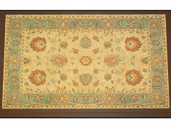 Mod The Sims: Anatolia Antique Rugs by Christina51