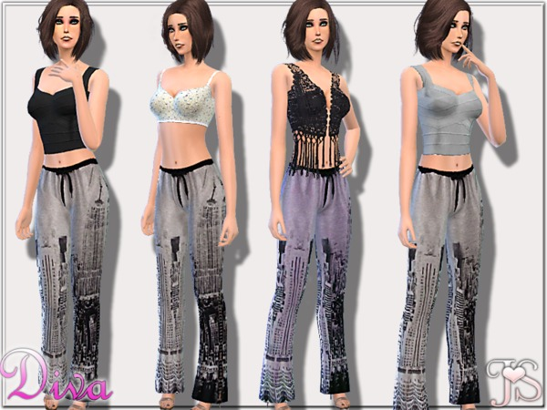 The Sims Resource: DIVA Set by JavaSims