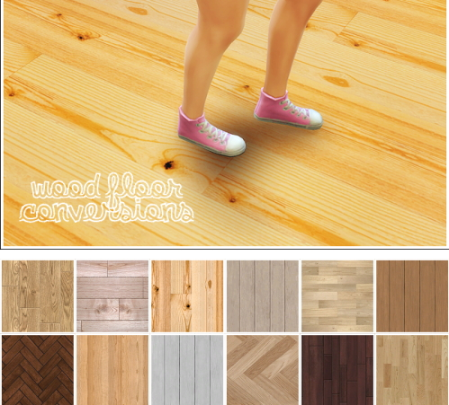 Linacherie 12 Wood Floor Converted From Ts2 Sims 4 Downloads