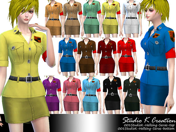 Studio K Creation: Hellsing   Seras outfit