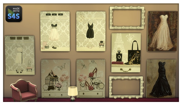 Lintharas Sims 4: Paintings for your Shop and Home!