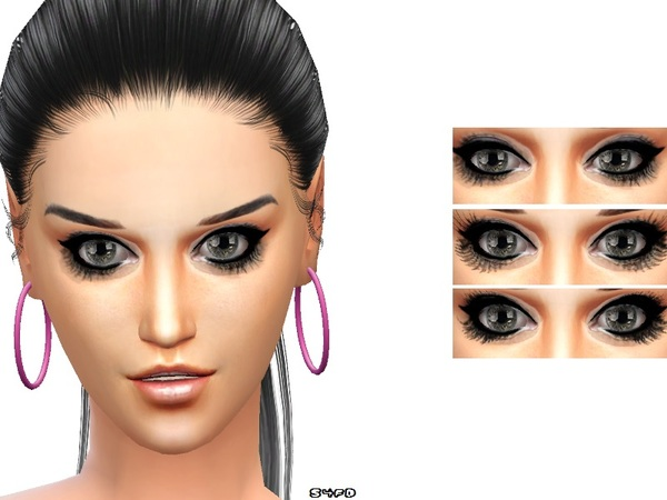 The Sims Resource: Super eyelashes by DivaDelic06