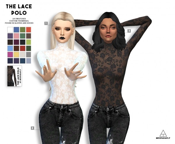 Miss Paraply: The Lace Polo