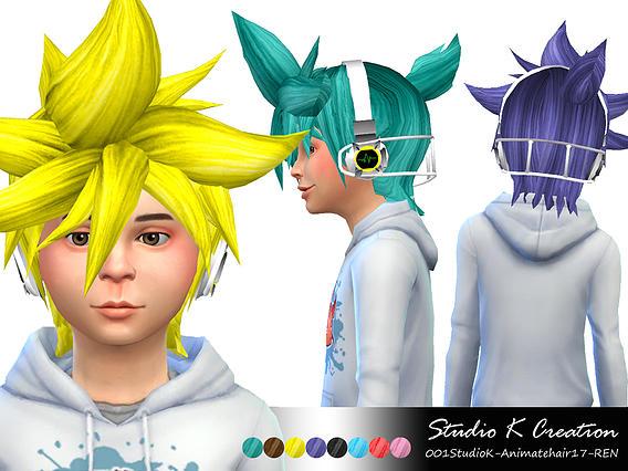 Studio K Creation: Animate Hair 17  REN