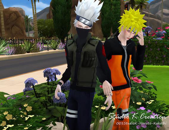 Studio K Creation Naruto X Kakashi Hair Top Bottom