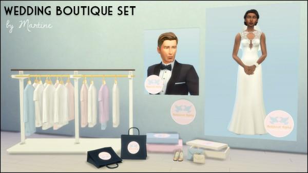 Martine Simblr Wedding Boutique Set Sims 4 Downloads