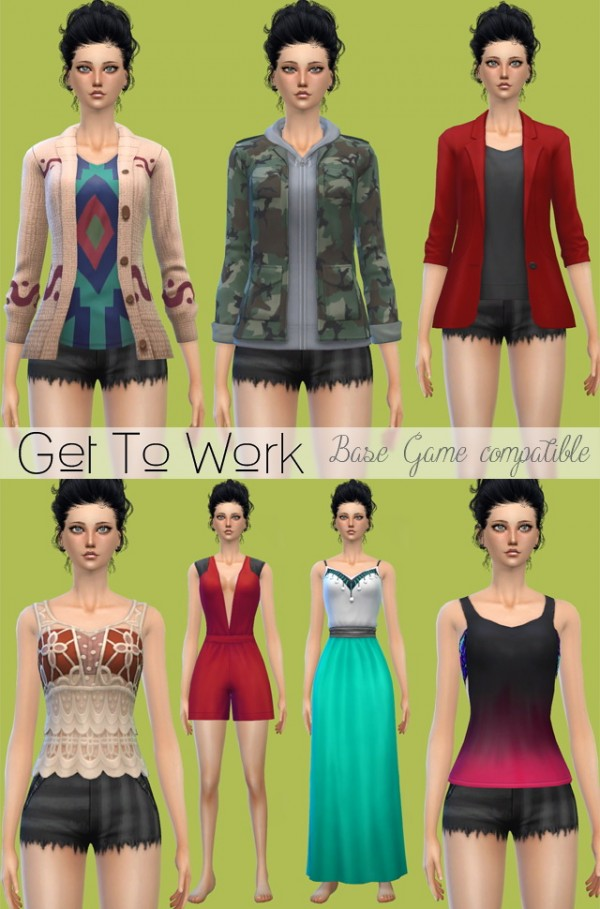 Jenni Sims: Clothes and Shoes   Sims 4 Downloads