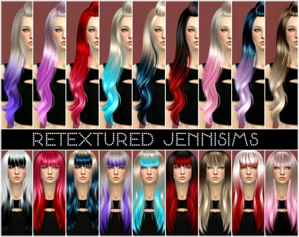 Jenni Sims: Alesso, SkySims and Newsea Soledad hairs