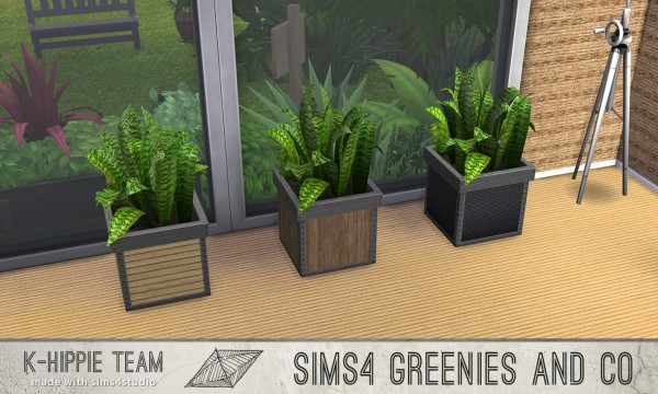Mod The Sims: 2 Plants   10 Recolours   Greenies  by Blackgryffin