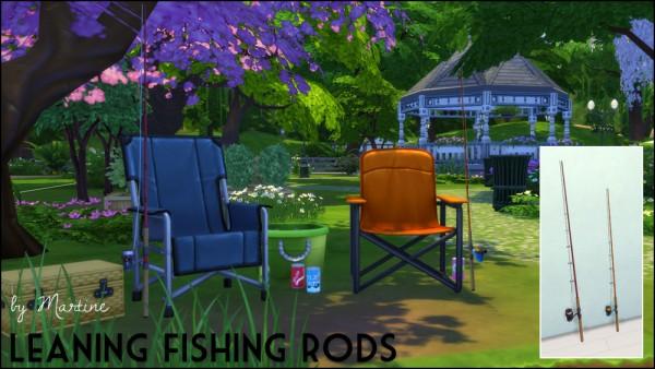Martine Simblr: Fishing rods