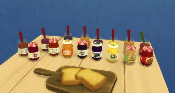 Budgie2budgie: Little jam/marmelade jar