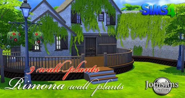 Jom Sims Creations: New wall plants