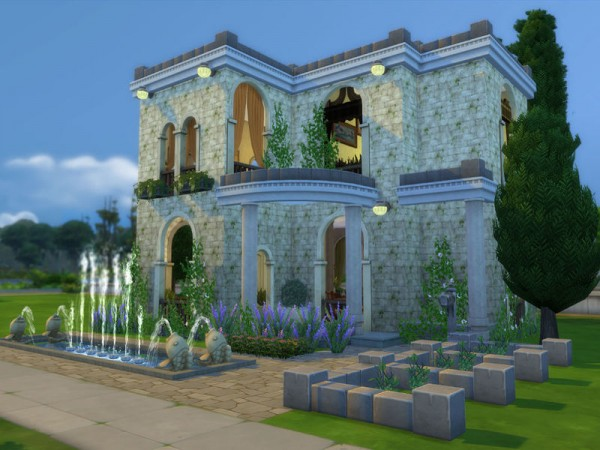 the sims resource classic roman house by ineliz sims 4