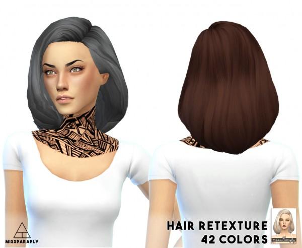 Miss Paraply: Hair retexture / Tamo Puffy Shoulder Bob / 42 colors