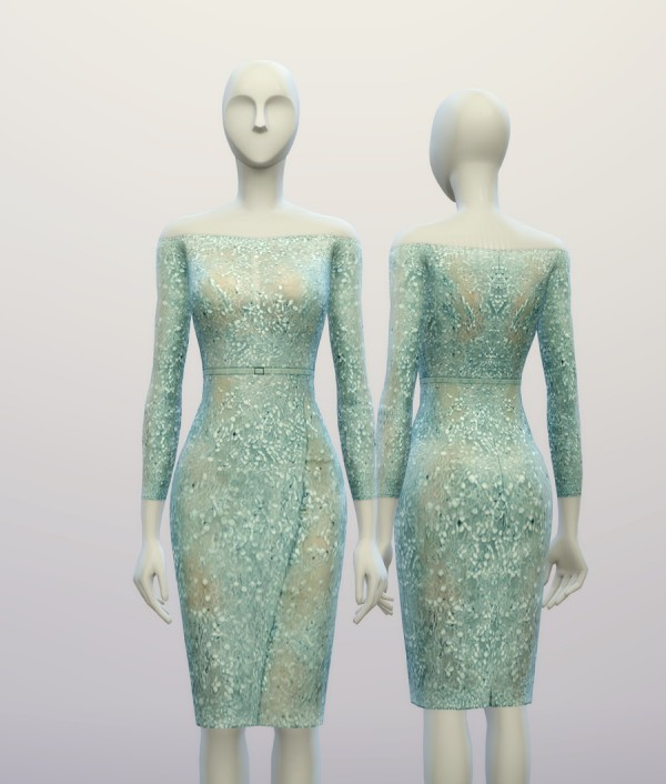 Rusty Nail: Dress inspired by Elie Saab