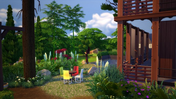 Fezet S Corporation Willow Spleen House Sims 4 Downloads