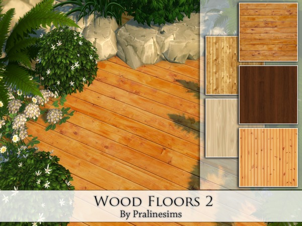 The Sims Resource: Wood Floors 2 by Praline Sims