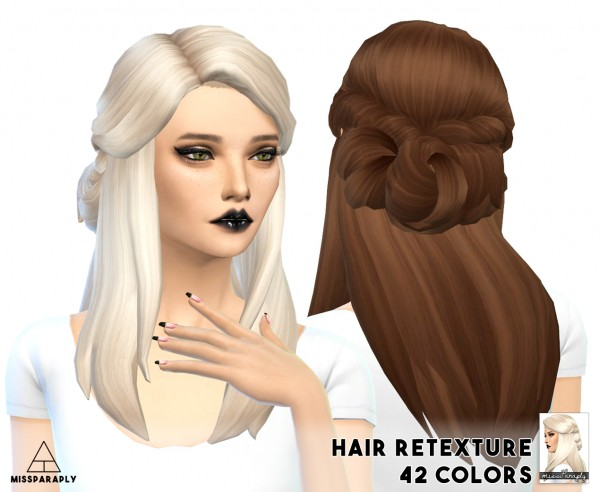 Miss Paraply Hair Retexture Lumialoversims Sawyer 42