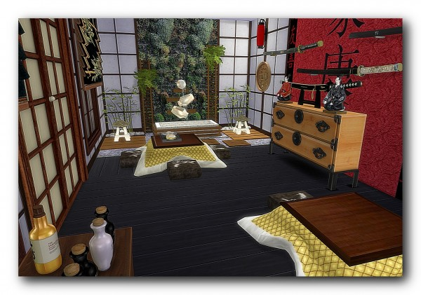Architectural Tricks From Dalila China Town Retro Sims