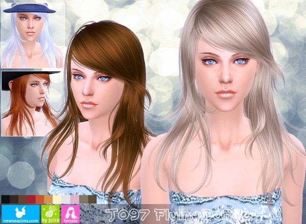 NewSea: J097 Flyng Dance hair