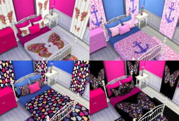 Sunshine Amp Roses Custom Content Teen Bedding Collection