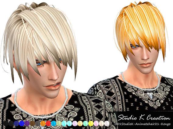 Studio K Creation: Animate hair 21 Kengo