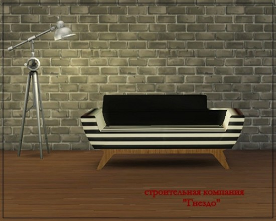 Sims 3 by Mulena: ARXUR sofa