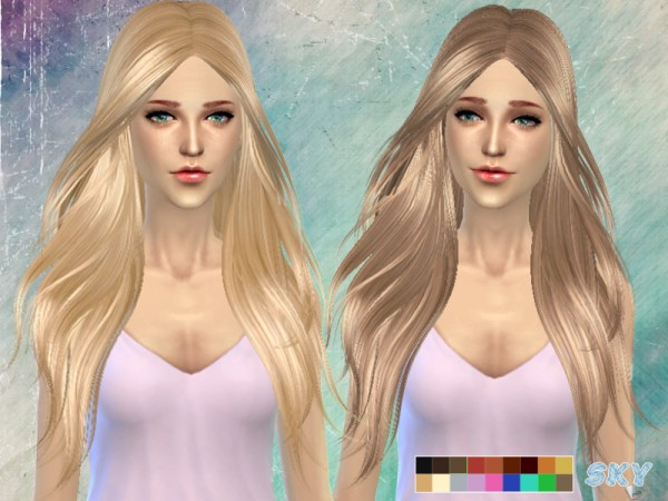 The Sims Resource: Skysims hair 194