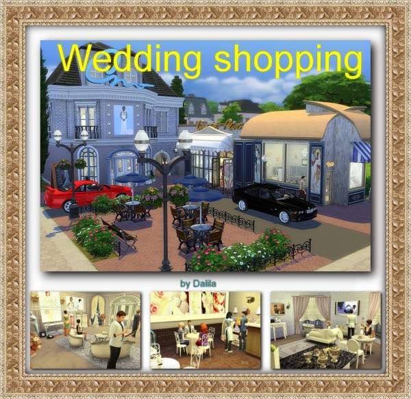 Architectural tricks from Dalila: Wedding shopping