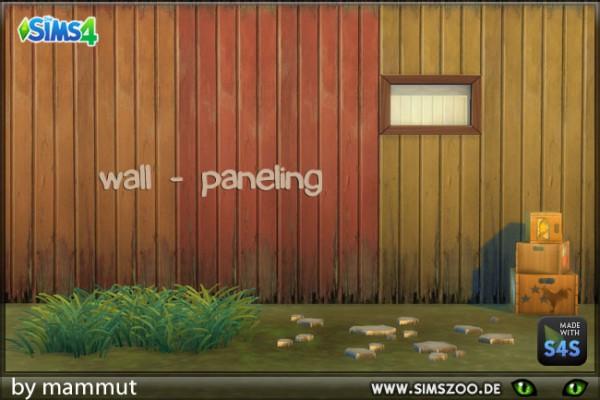 Blackys Sims 4 Zoo: Wall panelling by Mammut