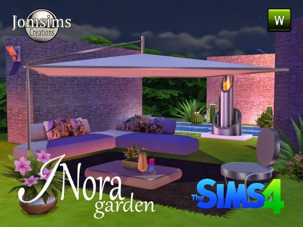Jom Sims Creations New Inora Garden Sims 4 Downloads