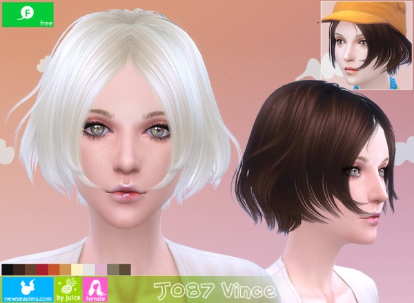 NewSea: J085 Vince chopped hairstyle