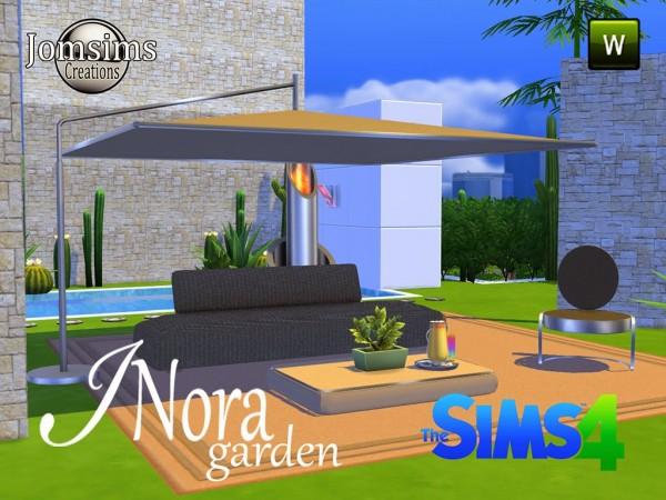 Jom sims creations new inora garden sims 4 downloads for Sims 4 jardin romantico