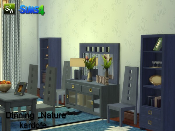 The Sims Resource: Dinning room nature by Kardofe