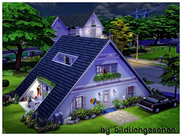 ... Akisima Sims Blog: Triangular house