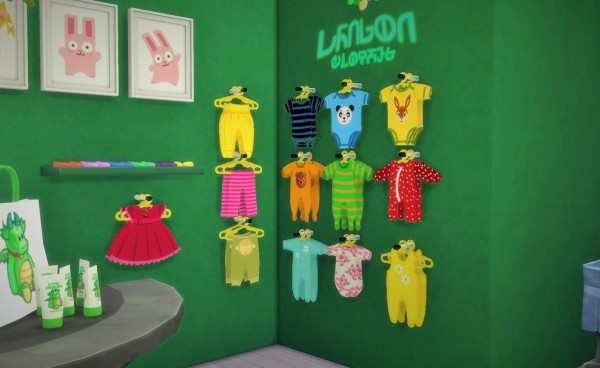 Budgie2budgie Baby Sticker Clothes Sims 4 Downloads