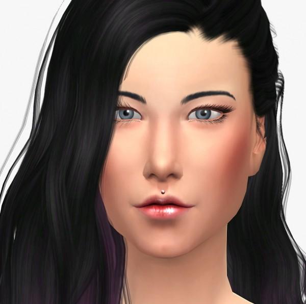 19 Sims 4 Blog: Lip piercing