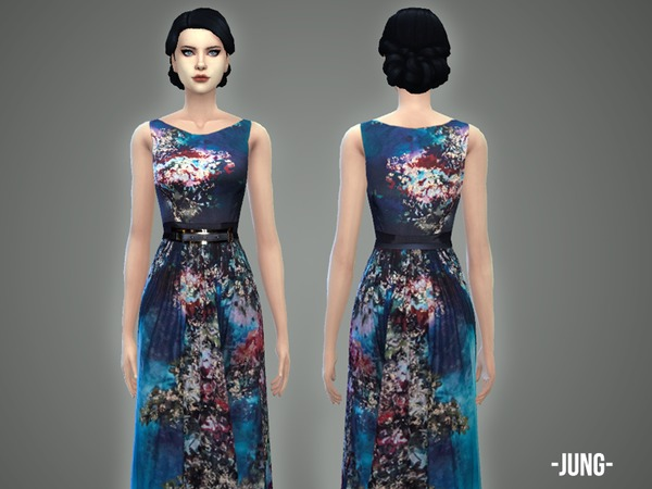 The Sims Resource: Jung   gown by April