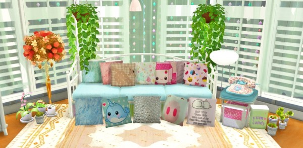 Simlife: Cute pillows
