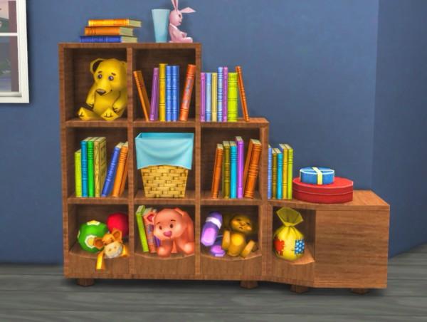 Simlife: A bookshelf
